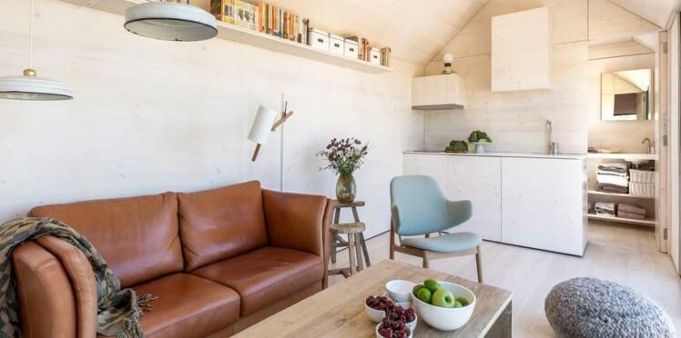 9 astuces pour optimiser l\'espace dans votre salon : Femme ...