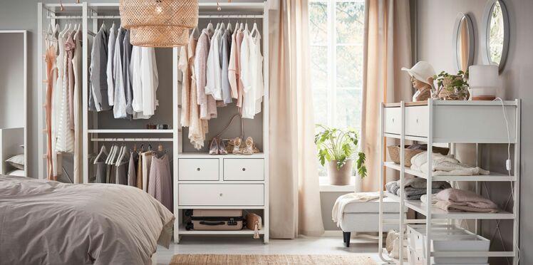 4 astuces pour bien organiser son dressing