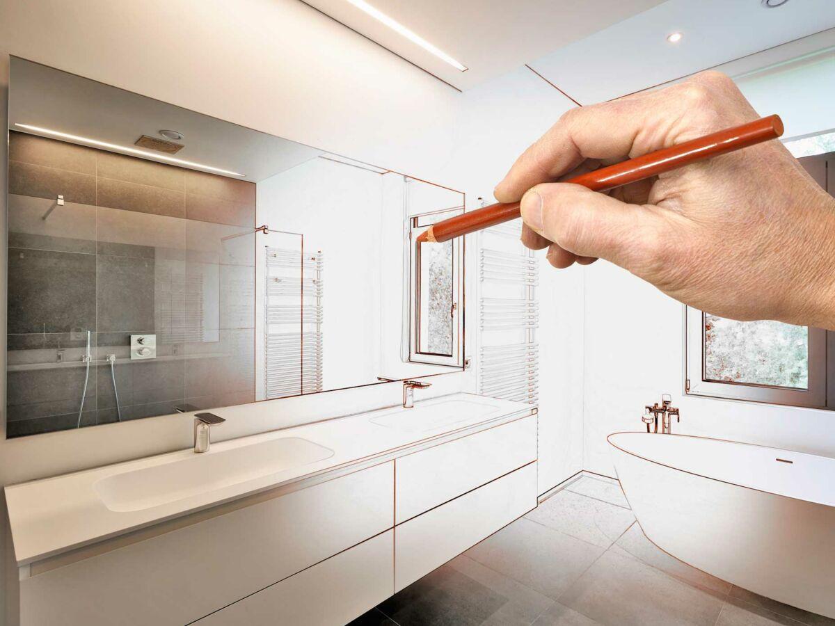Quelle est la bonne hauteur pour un meuble de salle de bain