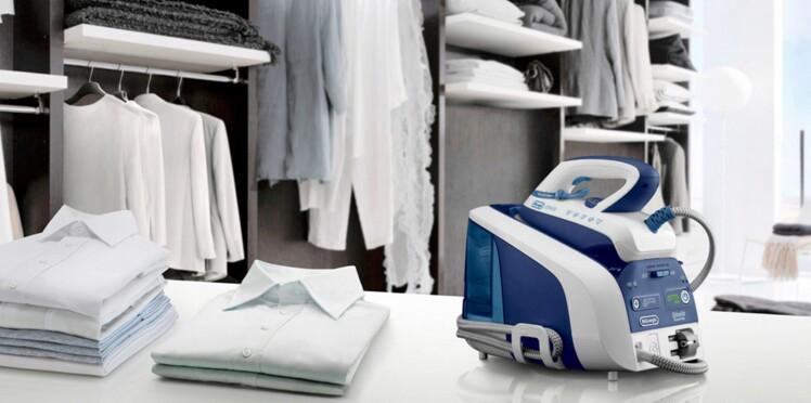 centrale vapeur ou fer repasser que choisir femme. Black Bedroom Furniture Sets. Home Design Ideas