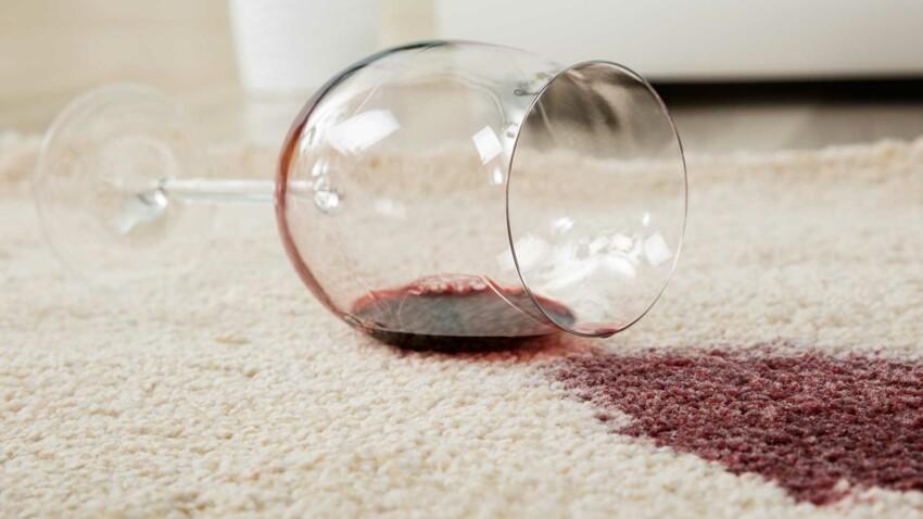 Comment enlever une tache de vin ?