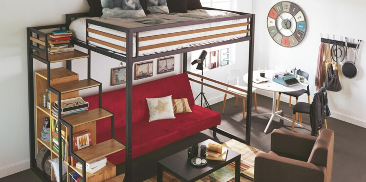 nos conseils pour am nager son logement tudiant femme actuelle le mag. Black Bedroom Furniture Sets. Home Design Ideas