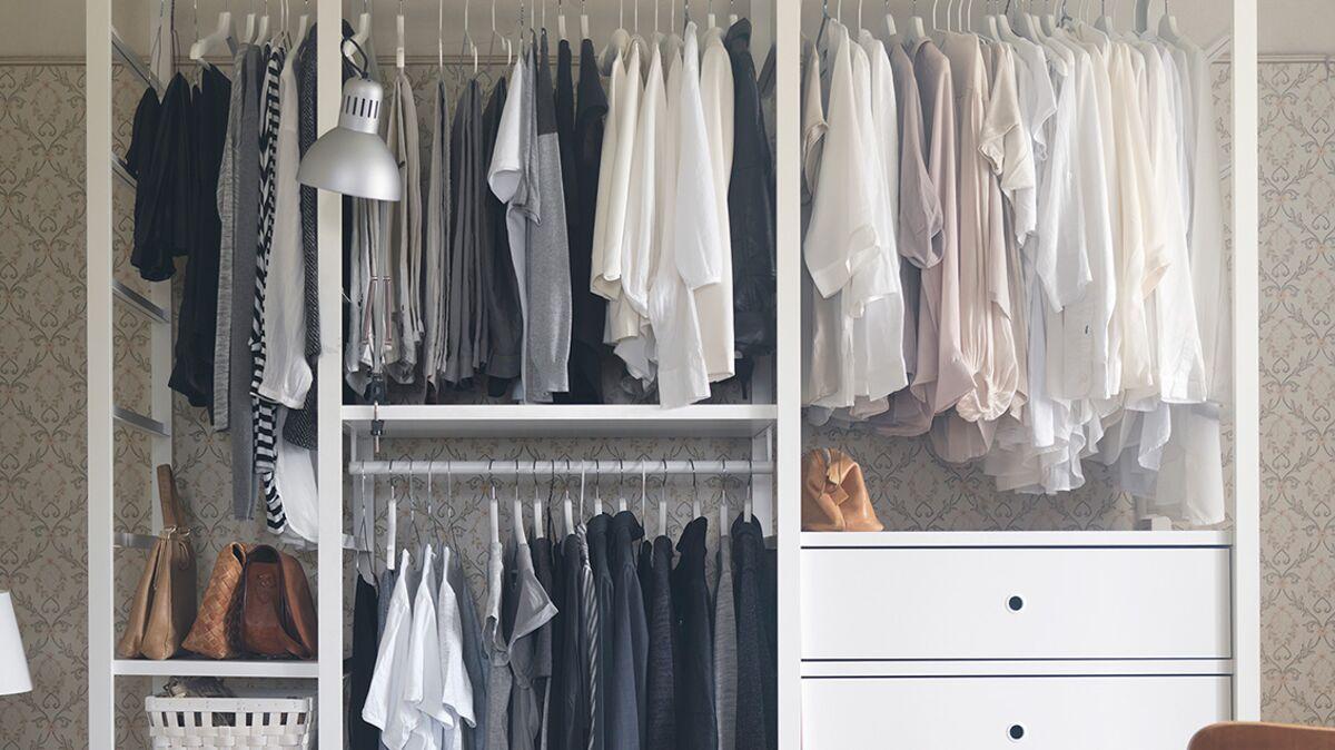 Dressing Ikea Pas Cher dressing pas cher : nos astuces pour s'équiper à petit prix