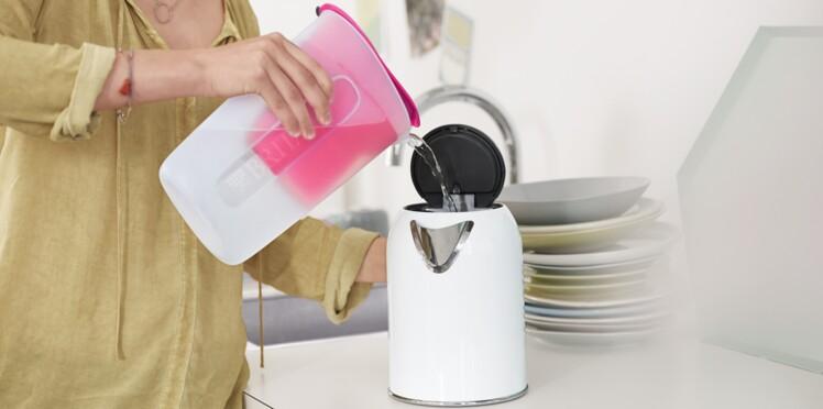 De l'eau filtrée pour protéger mes appareils ménagers