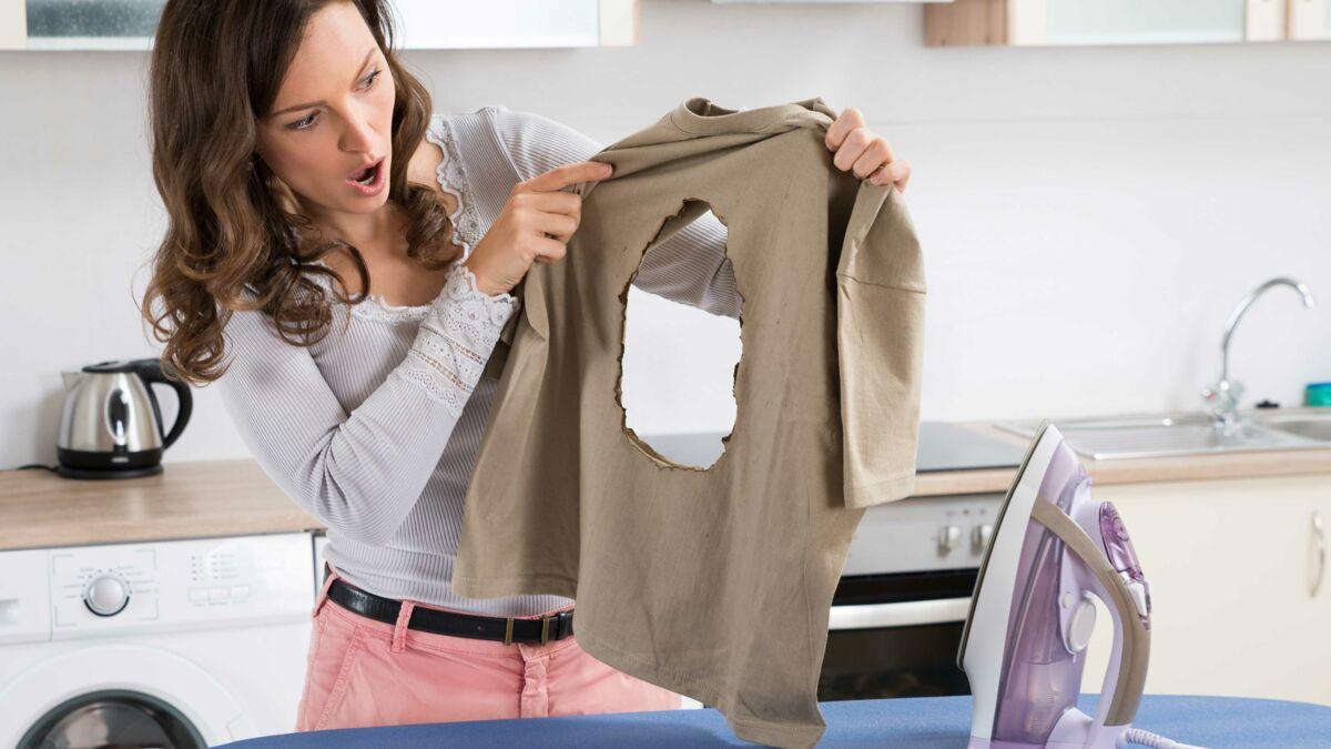 Plan De Travail Pour Repasser 7 erreurs que l'on fait tous avec un fer à repasser : femme