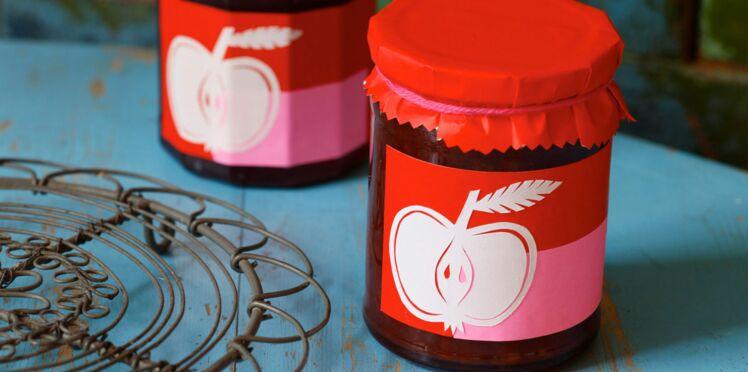 Fabriquer de belles étiquettes pour vos confitures