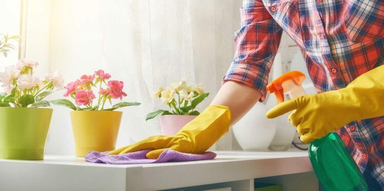 Faire le ménage, ce n'est pas toujours propre