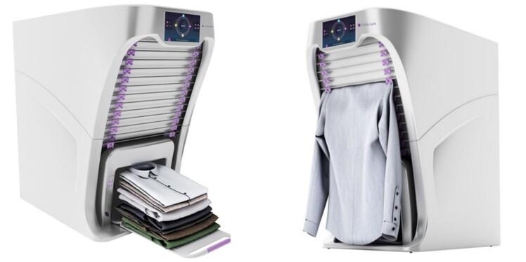 FoldiMate, le robot qui repasse, plie et parfume votre linge