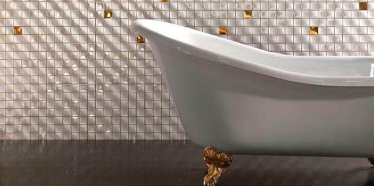 5 id es d co pour donner un coup de jeune sa salle de bains femme actuelle le mag. Black Bedroom Furniture Sets. Home Design Ideas