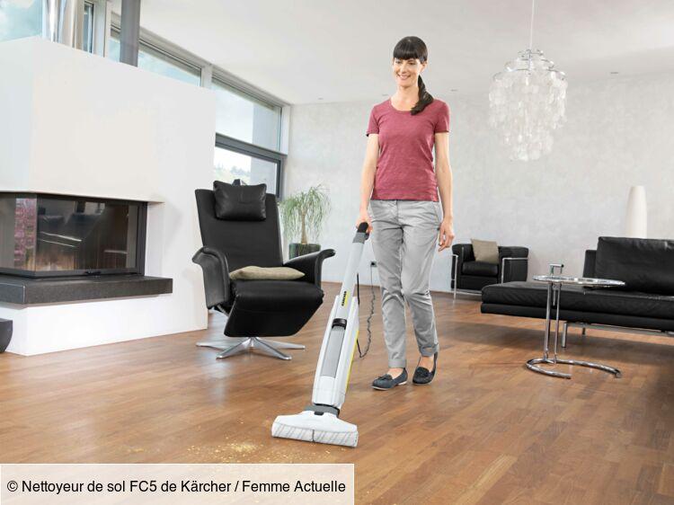 J'ai testé le nettoyeur de sol électrique Kärcher : Femme