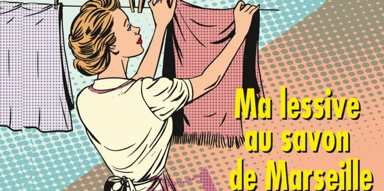 Ma lessive au savon de Marseille et à la lavande