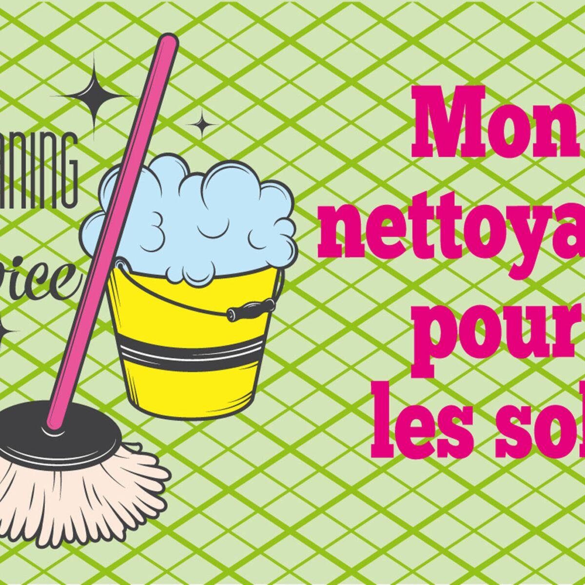 Fait-maison, mon nettoyant naturel pour le sol : Femme Actuelle Le MAG