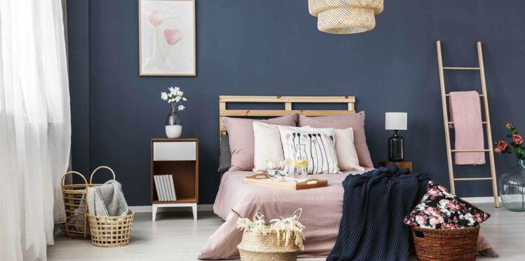 peinture de chambre quelles couleurs et quelles finitions choisir femme actuelle le mag. Black Bedroom Furniture Sets. Home Design Ideas