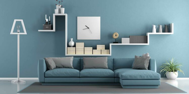 peinture du salon comment trouver la bonne couleur femme actuelle le mag. Black Bedroom Furniture Sets. Home Design Ideas