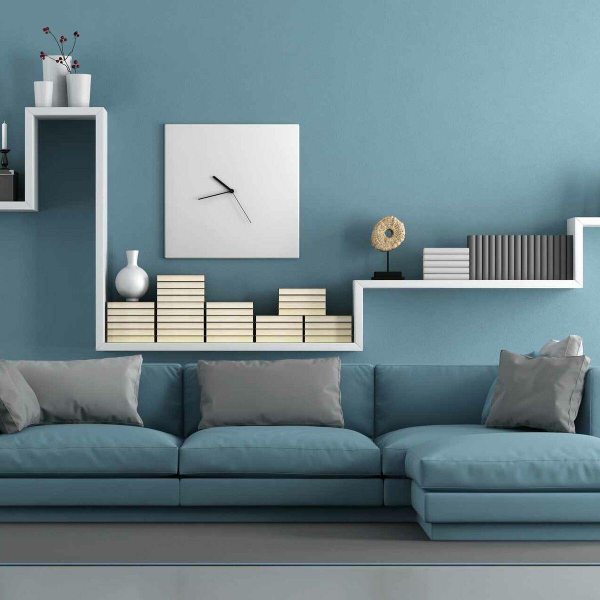 Quel Mur Peindre En Couleur Salon peinture du salon : comment trouver la bonne couleur