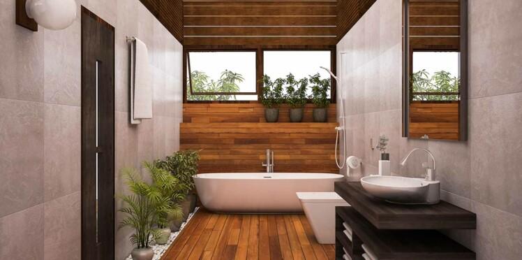peinture de salle de bains quelles couleurs et quelles finitions choisir femme actuelle le mag. Black Bedroom Furniture Sets. Home Design Ideas