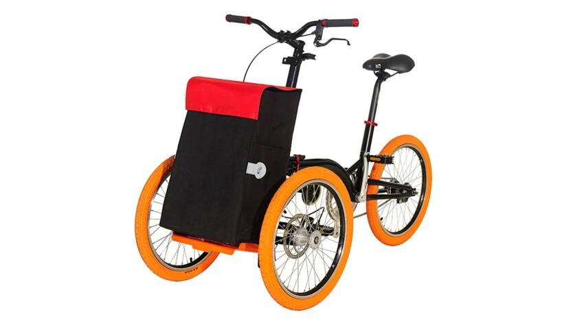 A gagner : un vélo pliable avec support et sac cabas !