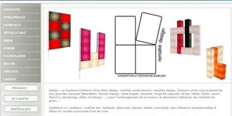 Acheter des produits signés par des designers