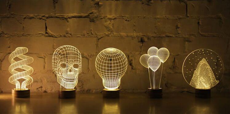 BULBING, des lampes 3D design et insolites