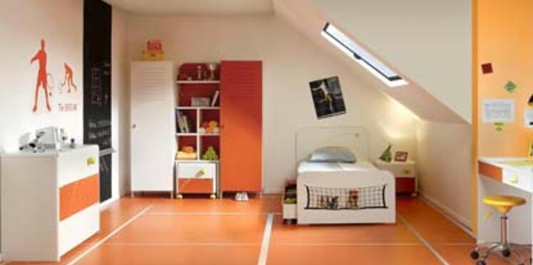 Une chambre en l'honneur de la petite balle jaune
