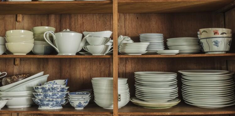 Changez votre vaisselle grâce à l'opération Videz vos placards