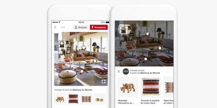 Maisons du Monde s'associe à Pinterest pour faciliter votre shopping