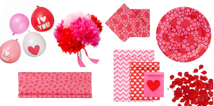 Collection Saint-Valentin chez HEMA, 50 nuances de roses…