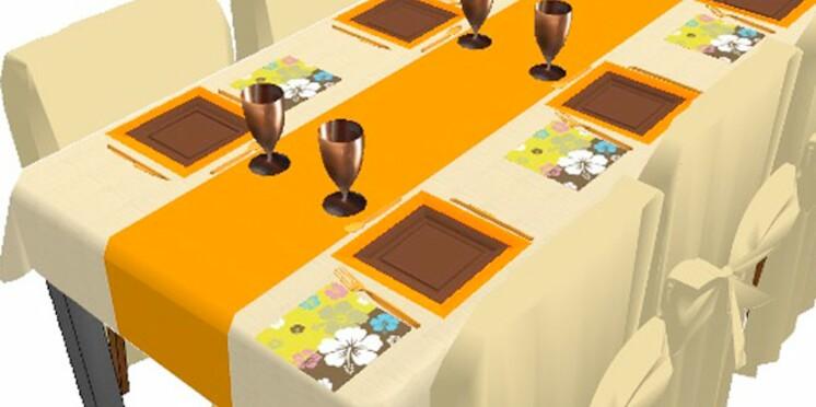 Composez votre table de fête en quelques clics