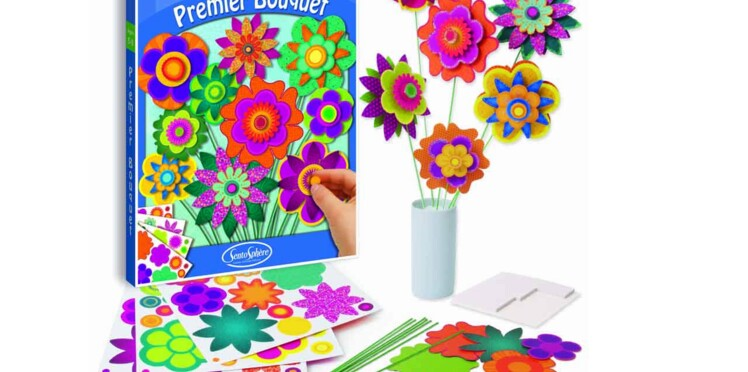 Créatif, le bouquet des enfants