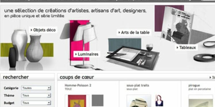 Decogalerie, un site Internet pour acheter des pièces de créateurs