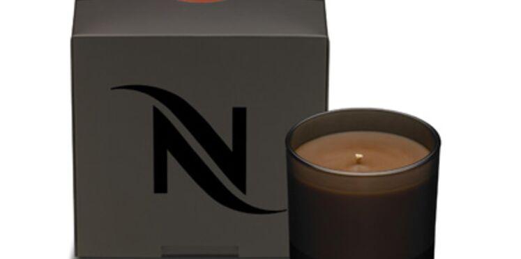 Bougie parfumée au café : la nouvelle idée de Nespresso