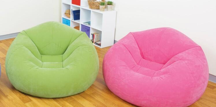 Des fauteuils Pop au design gonflé