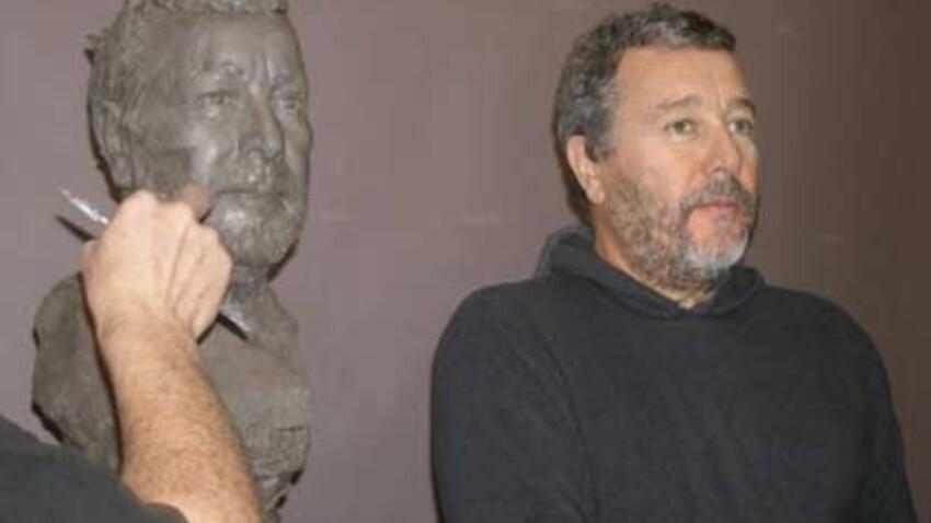 Le designer Philippe Starck entre au musée Grévin