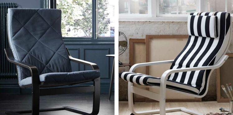 Fauteuil IKEA : nouveaux coloris pour le modèle iconique