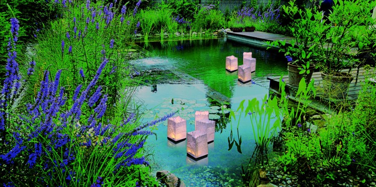 Illuminez vos fiestas autour de l'eau