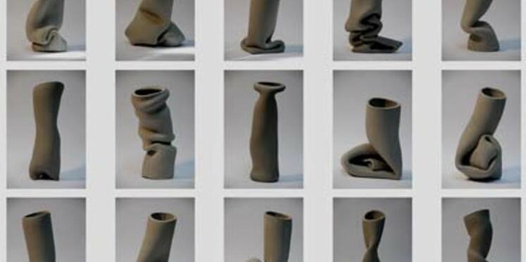 La designer Pieke Bergmans à la Tools Galerie
