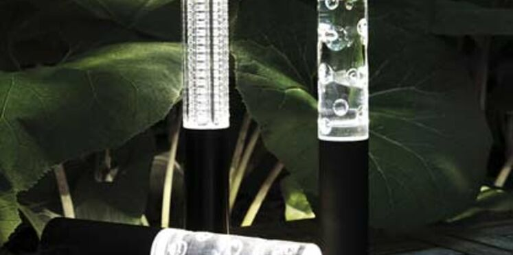 Création d'une lampe nomade et modulable en cristal de Baccarat