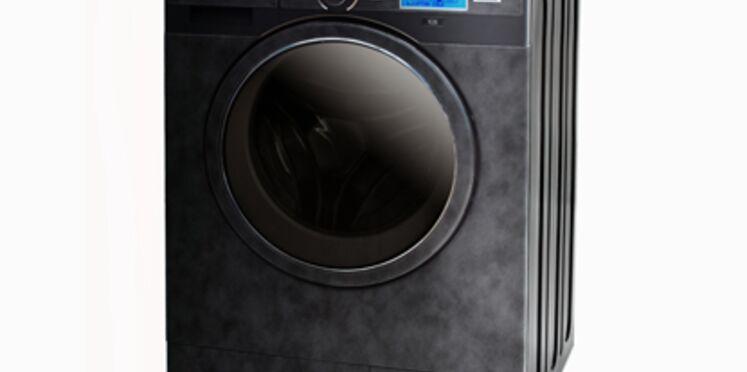 Un lave-linge tout en cuir signé De Dietrich