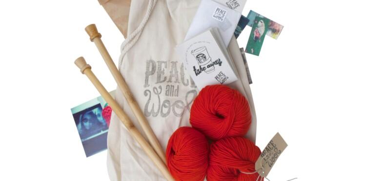 Le kit à tricoter facile