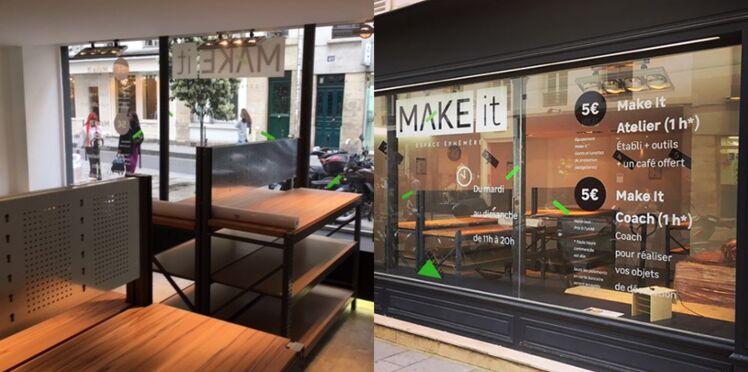 Leroy Merlin ouvre Make It, un espace éphémère parisien dédié au DIY
