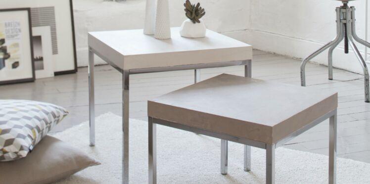 Nouvel effet béton pour les meubles