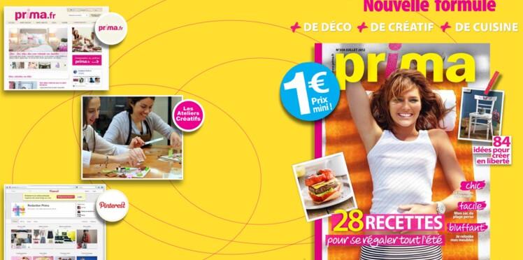 Le nouveau Prima en kiosque et en ligne !