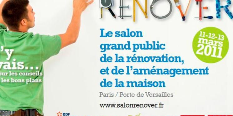 Le salon Rénover est ouvert