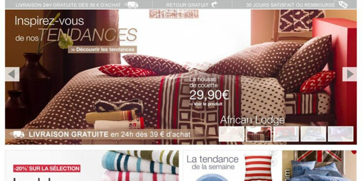 SoHome.fr : des textiles à petit prix, signés La Redoute