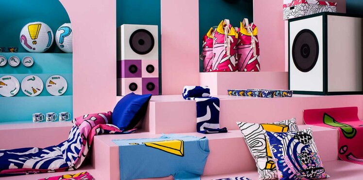 Spridd, la collection déco pop d'Ikea
