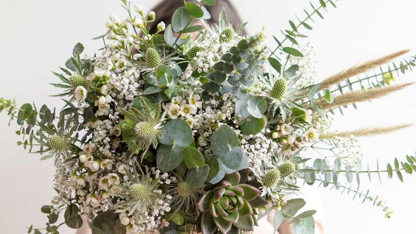 Un bouquet bohème et champêtre signé Laure de Sagazan