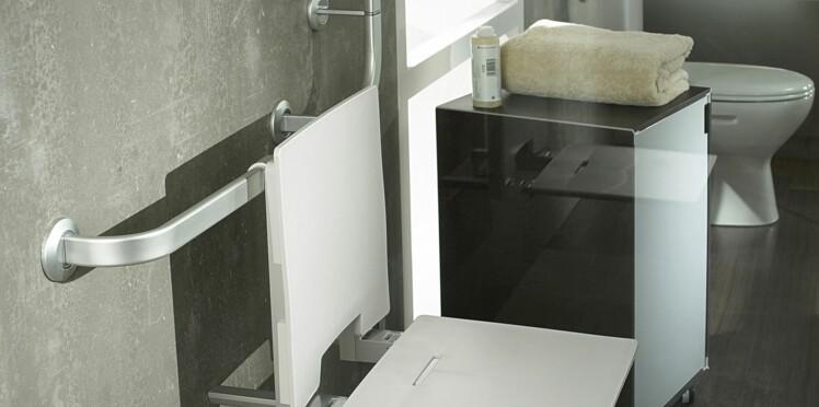 Un siège dans la douche