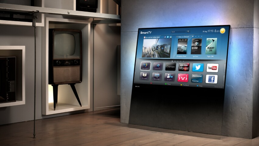 Un téléviseur comme objet déco !
