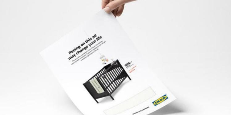 Urinez sur la pub IKEA pour savoir si vous êtes enceinte
