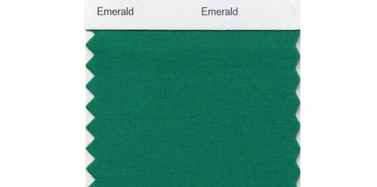 Vert émeraude, la couleur de l'année 2013